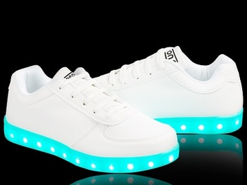 Buy Now: Lot of 120 LED SHOES . Kids and adults mixed sizes and styles