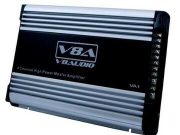 Buy Now: Lot of 5 Car Audio 4 Channel 12 volt Amplifier