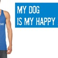 Selling with online payment: My Dog is My Happy Place Tank