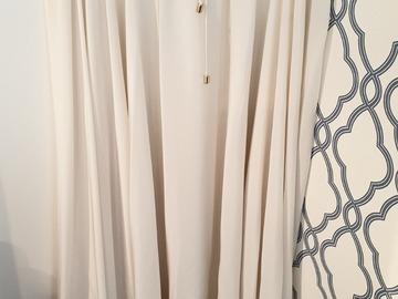 Selling: Beautiful White Silk skirt