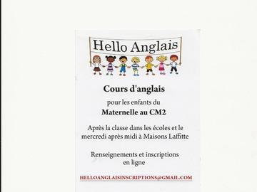 Apprendre: Hello Anglais