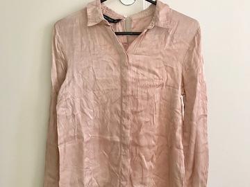 Myydään: ZARA silky shirt