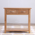 For Sale: SOUTHLAND Solid Oak 2 Drawer Console Table