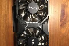 Myydään: ZOTAC GTX 1060 5GD5