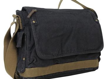 "Buy Now: 15"" Casual Style Canvas Laptop Messenger Bag C31"