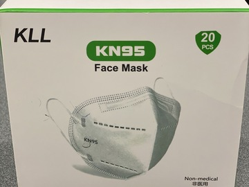 Selling with online payment: KN95 Masks (20 pack)