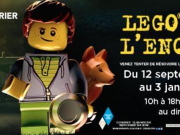 """Actualité: LEGO® MÈNE L'ENQUÊTE"""" À CHANORIER"""