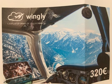 Vente: e-carte cadeau Wingly (320€)