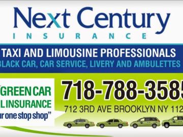 Insurance: Next Century Insurance-One Stop Shop for TLC Insurance