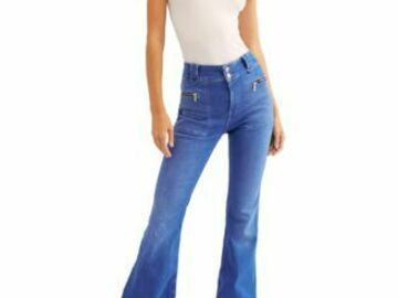 Compra Ahora: 10pc Women's New 'FREE PEOPLE' Jeans/Pants Lot