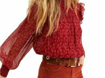 Buy Now: 10pc Women's New 'FREE PEOPLE' Top lot.