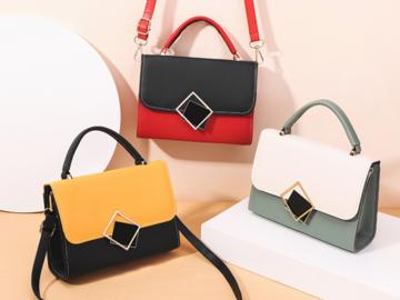 Compra Ahora: (24) Premium Women Crossbody Fashion Handbag Purse Tote