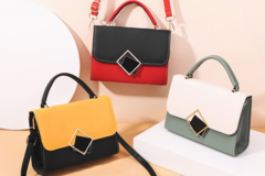 Buy Now: (24) Premium Women Crossbody Fashion Handbag Purse Tote