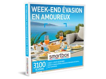 """Vente: Smartbox """"Week-end évasion en amoureux"""" (59,90€)"""