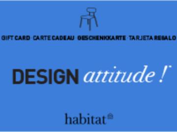 Vente: Carte cadeau Habitat (285€)