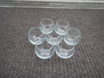 Ilmoitus: Pieniä lasimaljoja 7 kpl