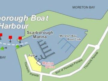 Rent By The Month: Multihull Berth Scarborough Marina Brisbane