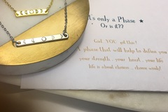 Selling with online payment: Moon Phase Necklace
