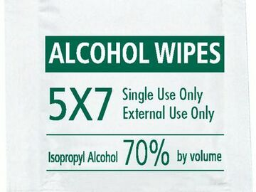 SALE: Alcohol Moist Towelette Case/1000 | Buy in Toronto