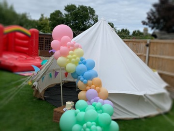 Renting out with online payment: Event Tent 4m canvas bell tent