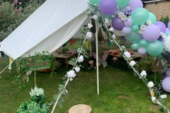 Renting out with online payment: Event Tent Canvas Bell Tent