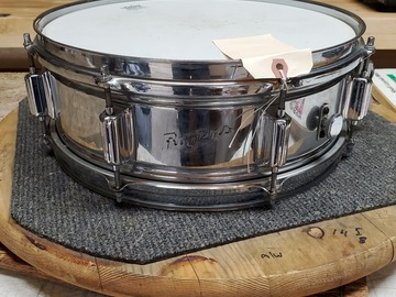 Selling with online payment: Rogers Powertone Snare Drum 5x14 COB Vintage 1960s $395 OBO