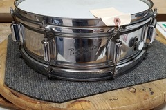Selling with online payment: Rogers Powertone Snare Drum 5x14 COB Vintage 1960s