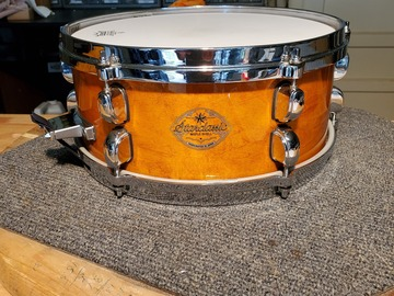 "Selling with online payment: 2000 Tama StarClassic 5.5"" x 13"" snare drum maple excellent"