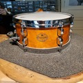 "Selling with online payment: 2000 Tama StarClassic 5.5"" 13"" snare drum natural maple excellent"