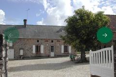 Location par semaine: Gîte F3 - St Martin Le Gréard (130 m²)