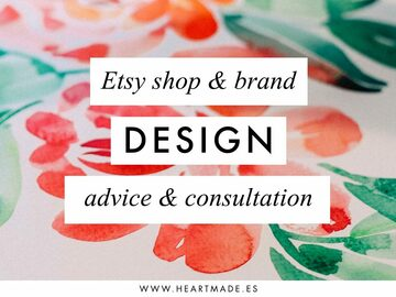 Offering expert consultation: Design consultation & advice for your Etsy Shop