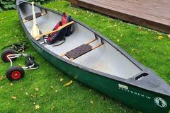 Vuokrataan (päivä): Kaksikko kanootti Mad river Explorer + varusteet