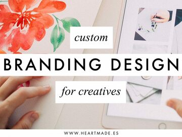 Offering online services: Custom Branding Design