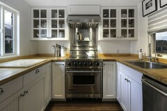 Offering without online payment: Evans Painting Company Kitchen Cabinet Painting Painters