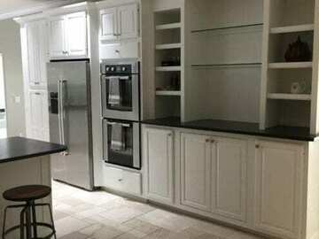 Offering without online payment: Vasquez Restoration Kitchen Cabinet Painters in Dallas