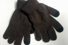 Buy Now: Thermo Wear Insulated 2-Finger Touch Sensitive Gloves Brown