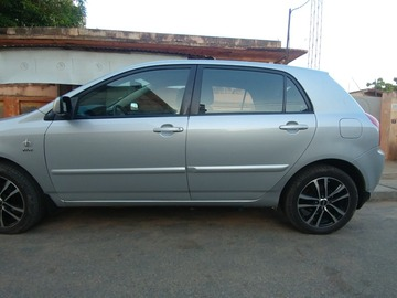 Renting out with online payment: Platinum Grey Toyota Corolla