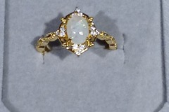 Buy Now: 14k gold plated sterling silver beautiful ring