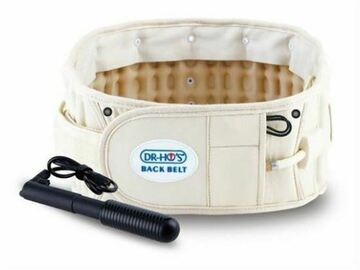 SALE: Dr. Ho's 2-in-1 Back Relief Decompression Belt Beige