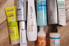 Buy Now: Mixed 9 piece lot of hair products.
