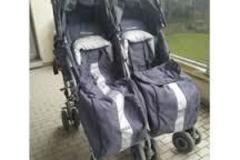 Vente: Poussette double Mac laren techno