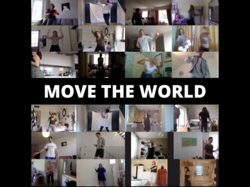 Free Session: MOVE THE WORLD - Freedom Dance - SUNDAYS 10am UK Summer Time
