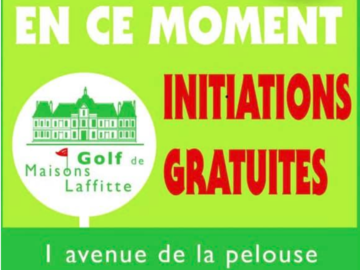 Offre: Free initiation to Golf