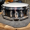 Selling with online payment: Pearl 5.5x14 All Maple snare drum - 80s vintage - black lacquer