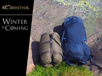 Uthyres (per vecka): Talvimakuupussi - Carinthia SA M05 makuupussi