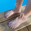 Vente au détail: Bijoux de pied saumon