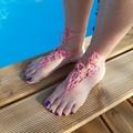 Vente au détail: Bijoux de pied roses