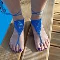 Vente au détail: Bijoux de pied turquoise