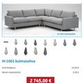 Myydään: sofa