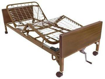 RENTAL: Semi-Electric Hospital Bed Rental - Chicago